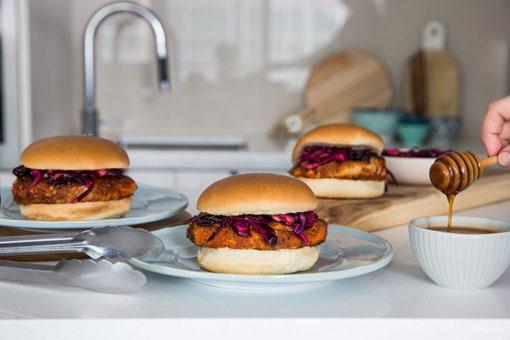 Wonder bread hamburger buns