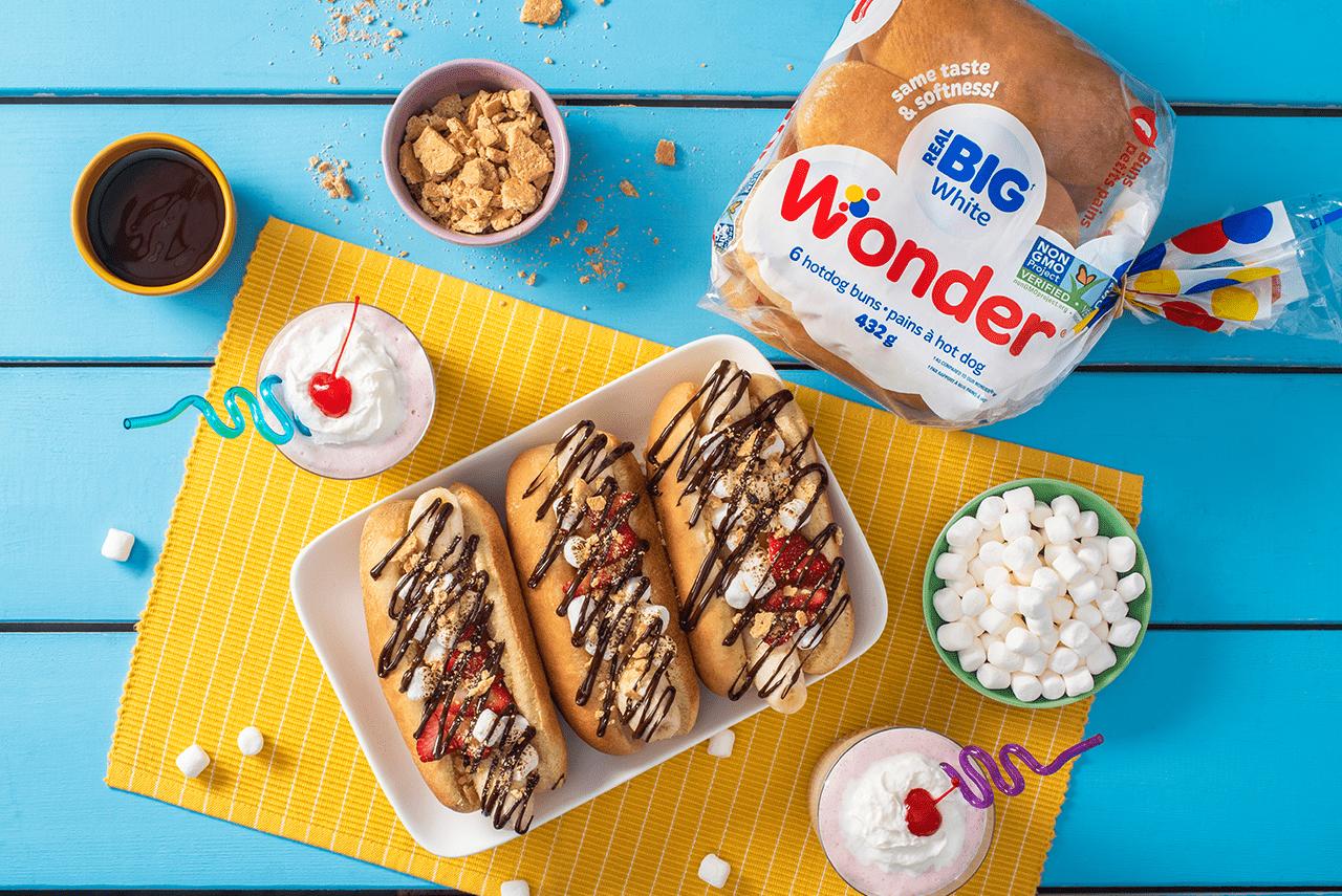 Wonder Smores Hotdogs Dessert